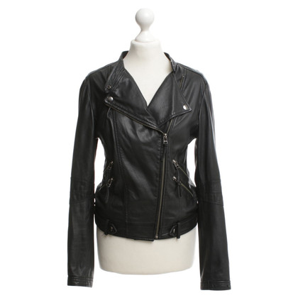 Style Butler Leather jacket in black