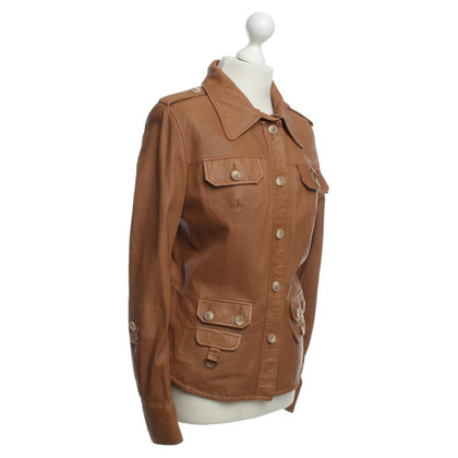 Arma Light brown leather jacket