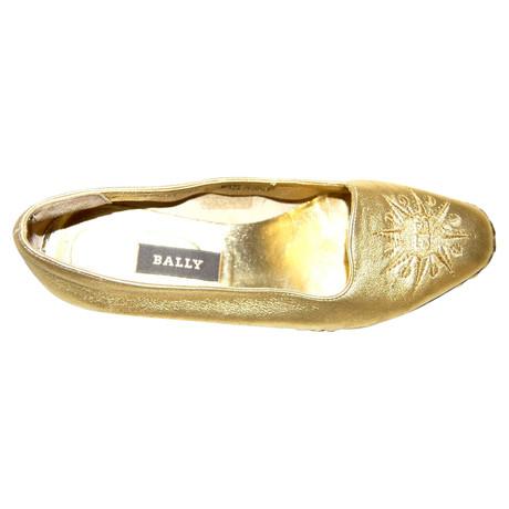 Bally Gold Bally Slipper Slipper Gold Slipper Bally 4nqgdx