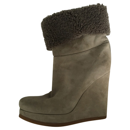 Jil Sander Boots with wedge heel