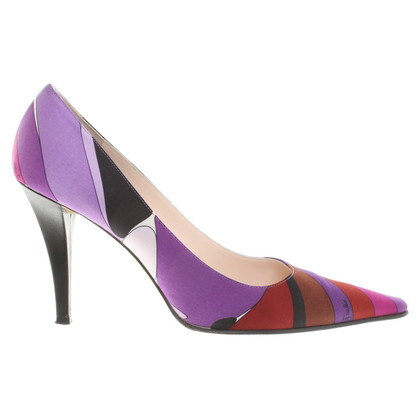 Emilio Pucci pumps with pattern