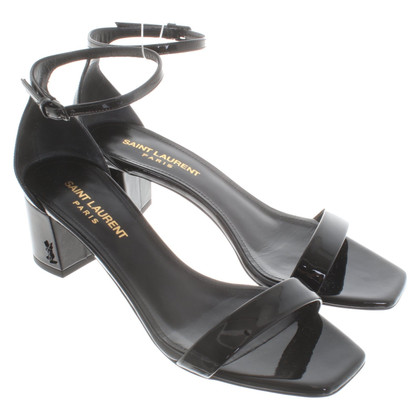 Saint Laurent Patent leather sandals
