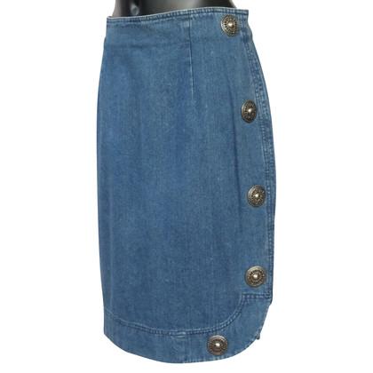 Philosophy di Alberta Ferretti jean jupe avec des goujons