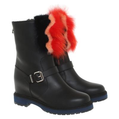 check out d6091 94838 Fendi Stivali di seconda mano: shop online di Fendi Stivali ...