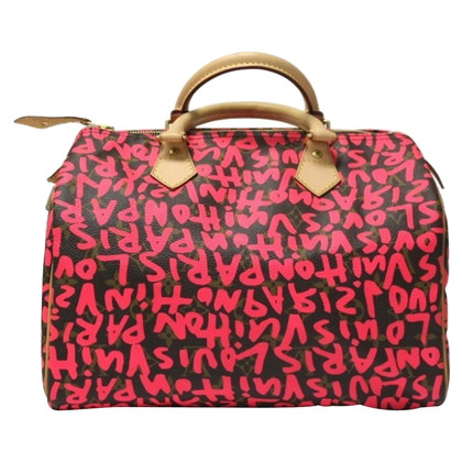 "Louis Vuitton ""Speedy 30 Monogram Graffiti"""