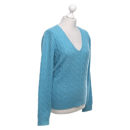 Polo Ralph Lauren Turquoise knit sweater