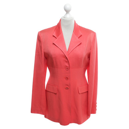 Karen Millen Lange blazer in Orange
