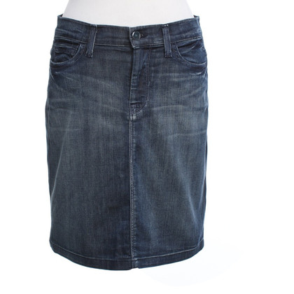 7 For All Mankind Jeans skirt with wash