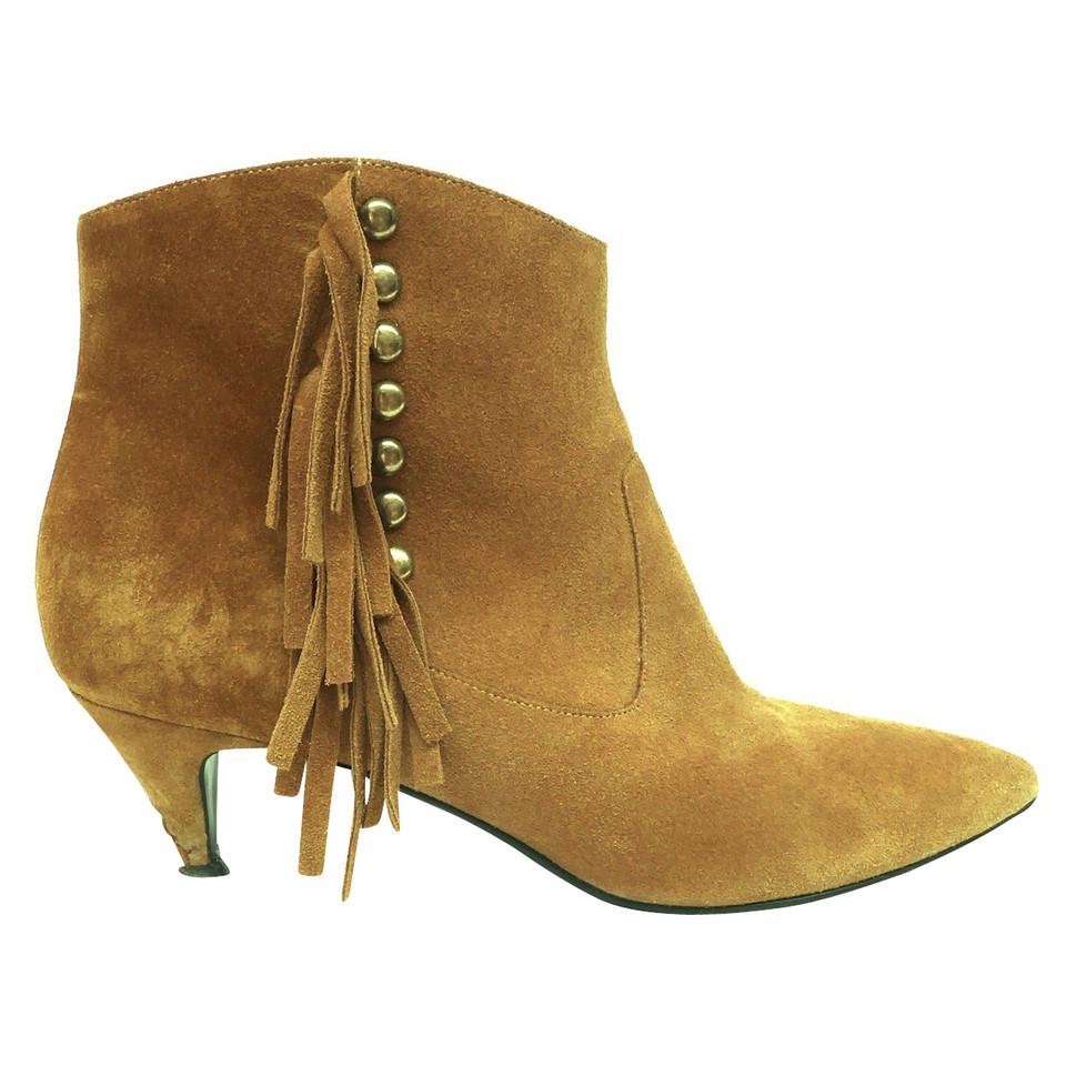 Boots Mit Fransen