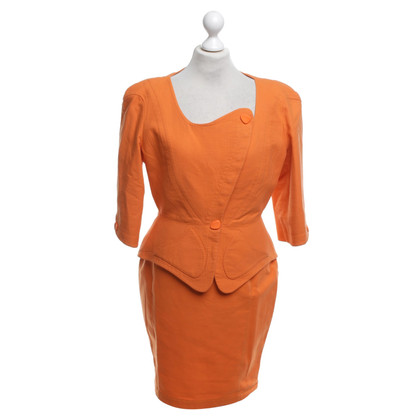 Mugler Costume à Orange