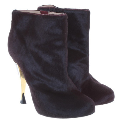 Diane von Furstenberg Ankle boots with fur