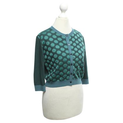 Pinko Vest in groen / blauw