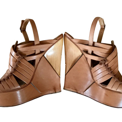 Lanvin Wedges in Beige