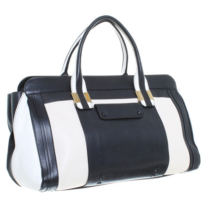 "Chloé ""Alice bag"" in cream, beige and black"