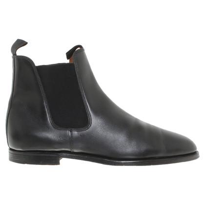 John Lobb Chelsea boots in nero