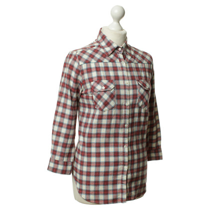 Paul & Joe Checkered blouse