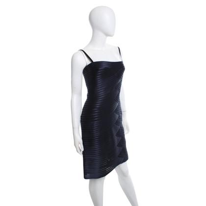 BCBG Max Azria vestito dalla fasciatura in blu scuro