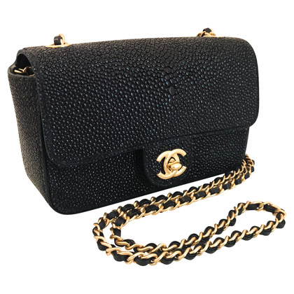 "Chanel ""Classic Flap Bag"" made of pearl leather"
