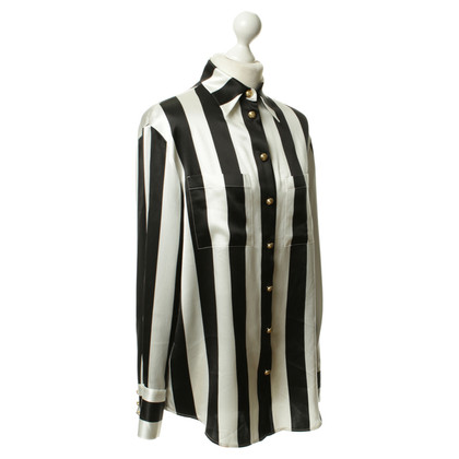 H&M (designers collection for H&M) Silk shirt with stripes