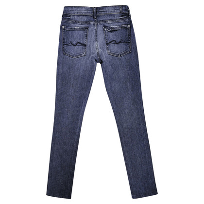 7 For All Mankind Roxanne mi-taille jeans