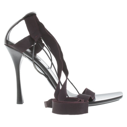 Gucci Sandals with grosgrain ribbons