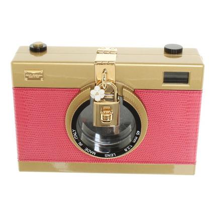 Dolce & Gabbana Schoudertas met camera motief