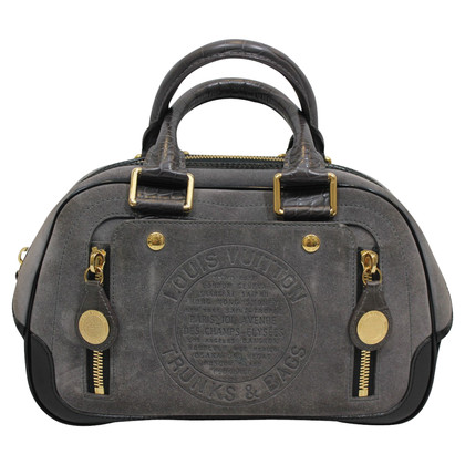 Louis Vuitton Havane Stamped Trunk GM Bag