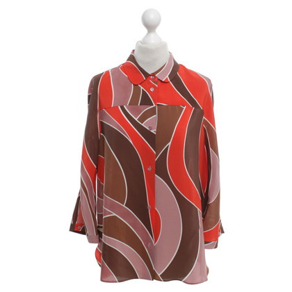 Missoni Silk blouse with pattern