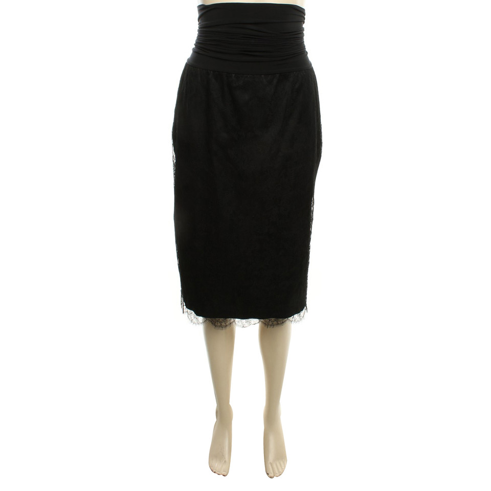 Wolford lace skirt