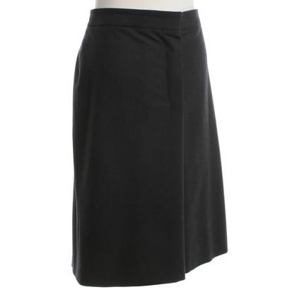 Jil Sander skirt in dark gray