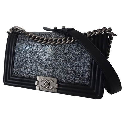"Chanel ""Boy Bag Medium"" from Galuchat leather"