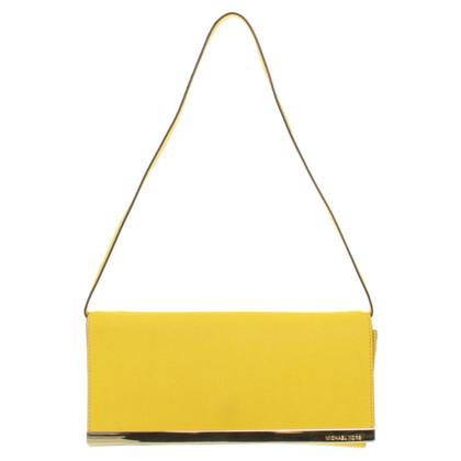 Michael Kors clutch in yellow
