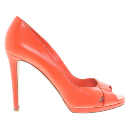 Sergio Rossi Peeptoes in Rot