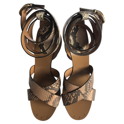 Gucci Sandalen Python Leather