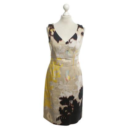 Elie Tahari Schede jurk met patroon
