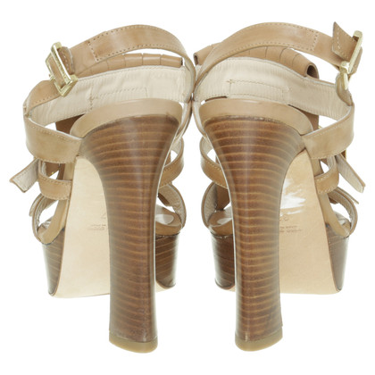 Baldinini Sandals with fringe trim