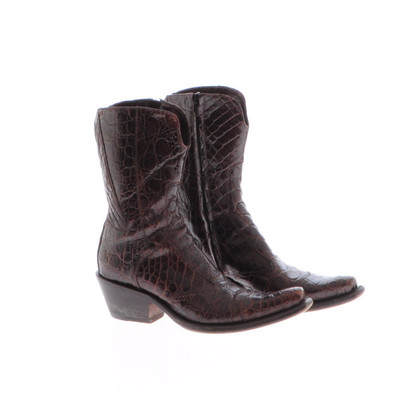Gianni Barbato Brown ankle boots