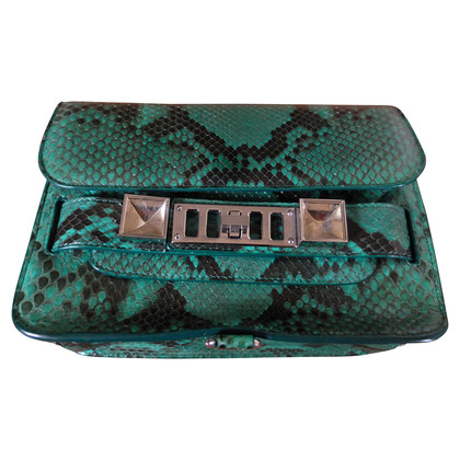 Proenza Schouler Python leather handbag
