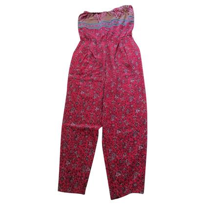 Tibi zijden jumpsuit met print