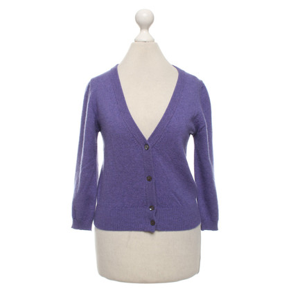 Bruno Manetti Cashmere cardigan in lilac
