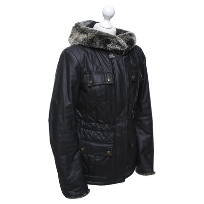 Belstaff Coated jacket in black