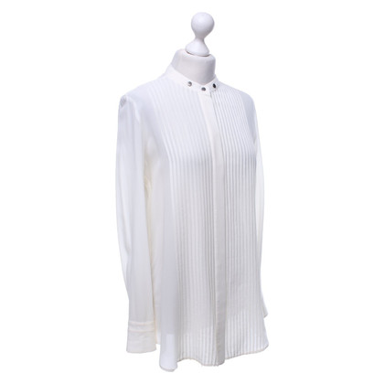 Belstaff Camicetta di seta in bianco crema