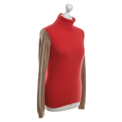 Hugo Boss Cashmere sweater in bicolour