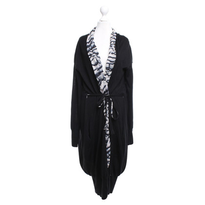 Roberto Cavalli Cardigan in black