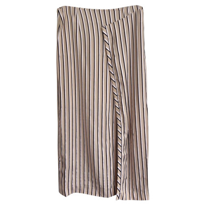 Acne skirt with stripes