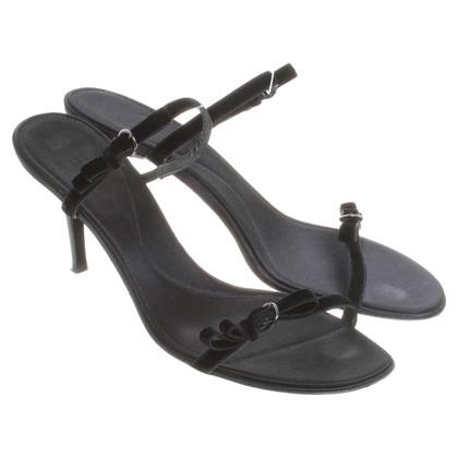 Bally Black high heel sandal