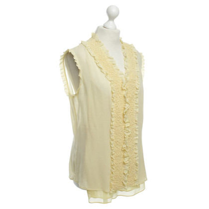 Escada Silk blouse with Ruffles