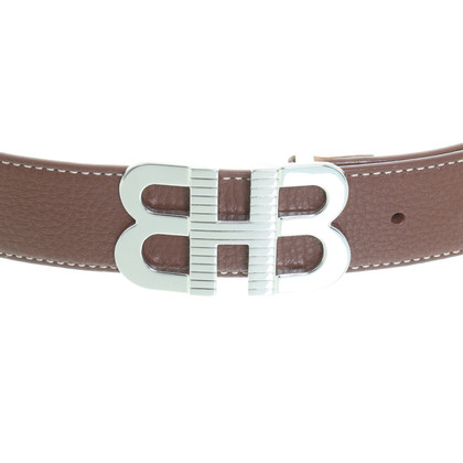Hugo Boss Brown leather belt