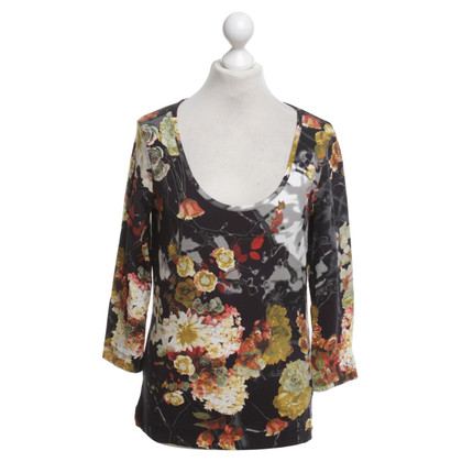 Just Cavalli top with a floral print