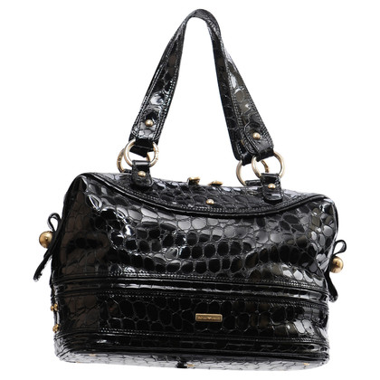 Armani  Patent Leather Tote Bag